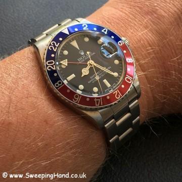 Rolex 1675 GMT Master 2