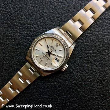 Ladies Rolex Date 69190 Box & Papers