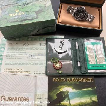 1997 Rolex 16600 Seadweller Tritium Collector Set