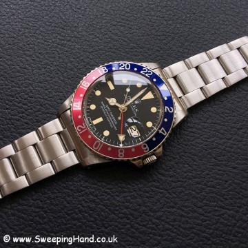 Stunning 1980 Rolex 1675 GMT Master Collector Set