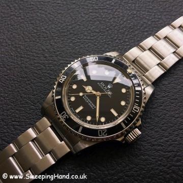 Classic Tritium Dial Rolex 5513 Submariner
