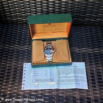 rolex-5513-service-papers