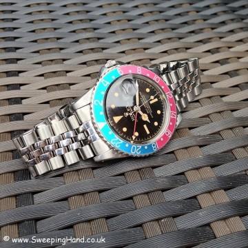 Rolex GMT Master 1675 Gilt Dial PCG 014