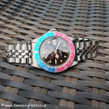 Rolex GMT Master 1675 Gilt Dial PCG 015