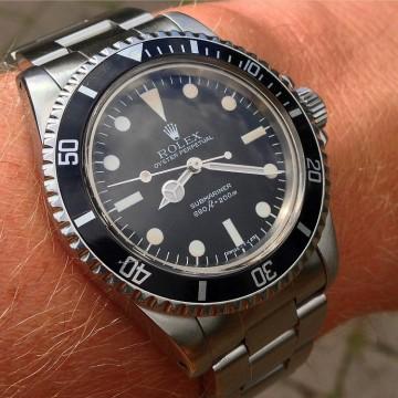 Rolex 5513 Maxi Dial wristshot