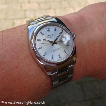 Rolex Oyster Perpetual Date 115200 - 3