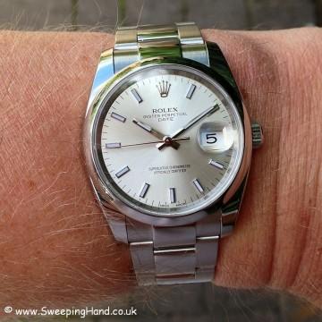 Rolex Oyster Perpetual Date 115200 - 4