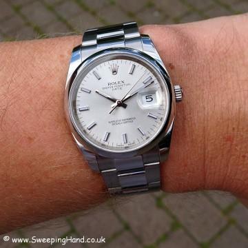 Rolex Oyster Perpetual Date 115200 - 8