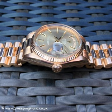 Rolex 1803 Rose Gold DayDate B&P 023