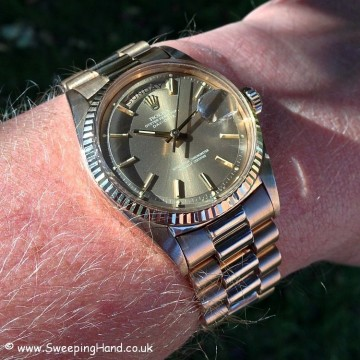 Rolex 1803 Rose Gold DayDate B&P 034