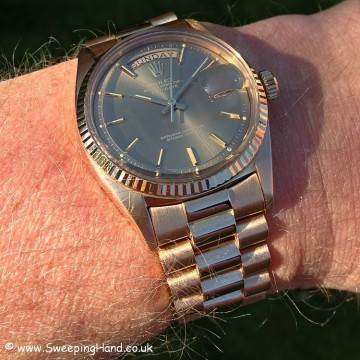 Rolex 1803 Rose Gold DayDate B&P 040