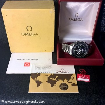 1974 Omega Speedmaster box and papers