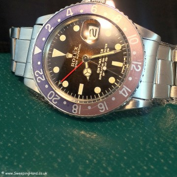 Rolex 1675 Gilt Dial Tropical 002