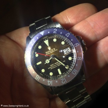Rolex 1675 Gilt Dial Tropical 008