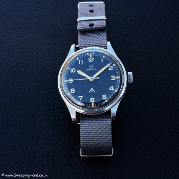 CK2777 Omega 53 RAF Military Thin Arrow