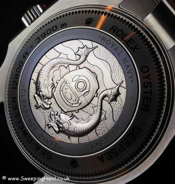 Clearance Diver Rolex Caseback 1