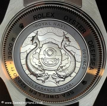 Clearance Diver Rolex Caseback 2