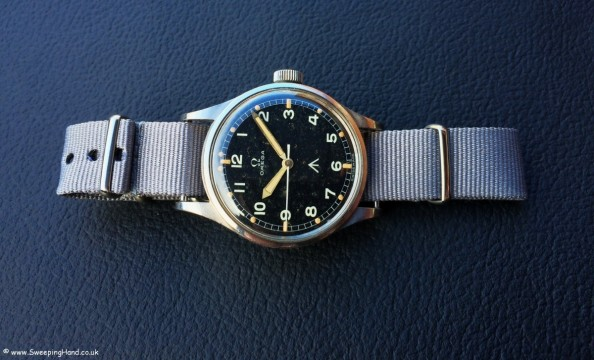 Omega 53 RAF Military Thin Arrow long pic
