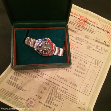 Rolex 1675 GMT Mk1 Matte Dial 001