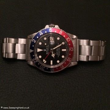 Rolex 1675 GMT Mk1 Matte Dial 003