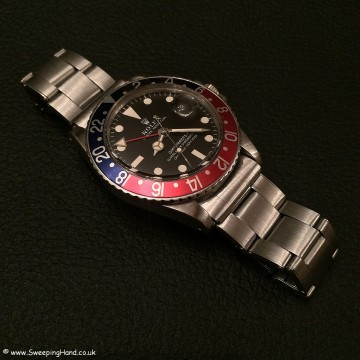 Rolex 1675 GMT Mk1 Matte Dial 005