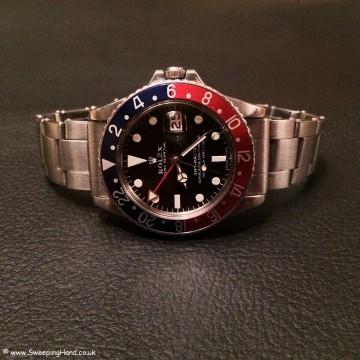Rolex 1675 GMT Mk1 Matte Dial 006