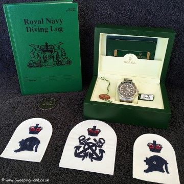 Rolex Clearance Diver Limited Edition 1 of 50 -4