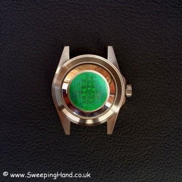 Rolex 14060M Case back
