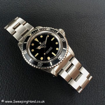 Gilt Dial Rolex 5513 Submariner -6