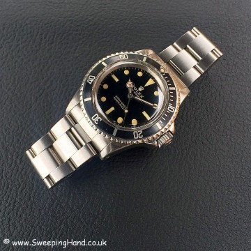 Gilt Dial Rolex 5513 Submariner -7
