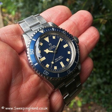 Tudor Submariner Blue Snowflake 1