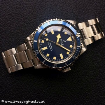 Tudor Submariner Blue Snowflake 8