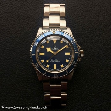 Tudor Submariner Blue Snowflake 9