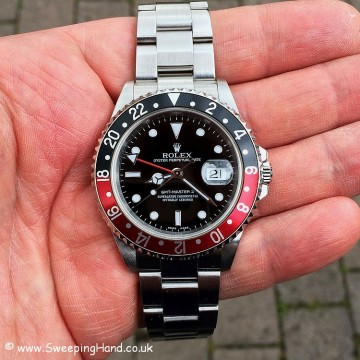 Rolex 16710 GMT Master II - head on