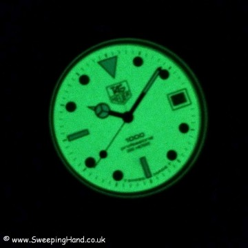 Tag Heuer Marine Nationale full lume
