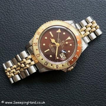 Rolex 1675 GMT Rootbeer Nipple 1