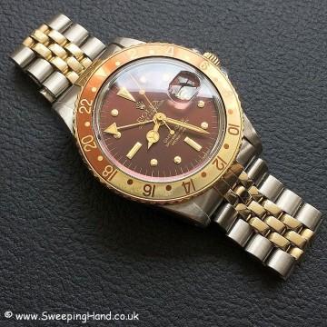 Rolex 1675 GMT Rootbeer Nipple 10