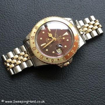 Rolex 1675 GMT Rootbeer Nipple 12