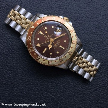 Rolex 1675 GMT Rootbeer Nipple 2