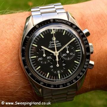 Omega Speedmaster 1976 wristshot