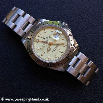 Rolex Explorer II Cream Rail Dial 1
