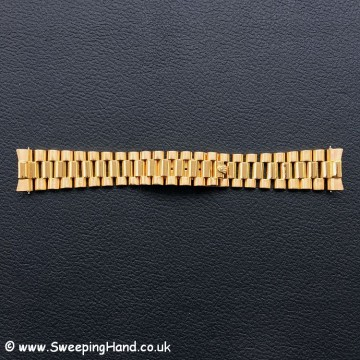 18k Gold Rolex Day Date 18038 - bracelet