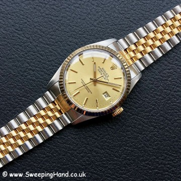 1987 Rolex 16013 Bi-Metal Datejust
