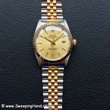 Rolex 16013 Bi-Metal Gents Datejust