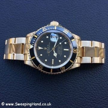 Rolex 18k Gold Submariner 16808 - 10