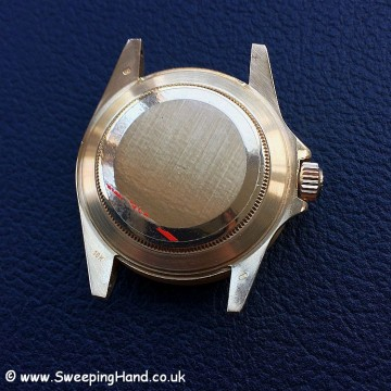 Rolex Gold Submariner 16808 case