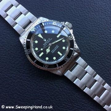 1969 Rolex 5513 Metres First - 1