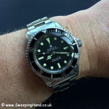 1969 Rolex 5513 Metres First - 13