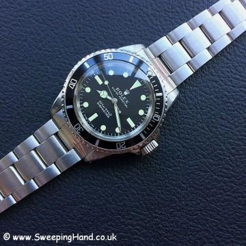 1969 Rolex 5513 Metres First - 2