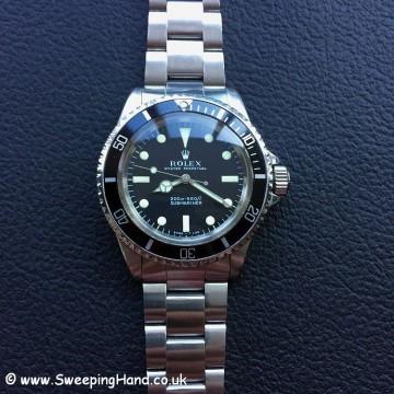 1969 Rolex 5513 Metres First - 3